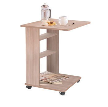 Столик прикатной Норд 450х450х685, Боровичи мебель