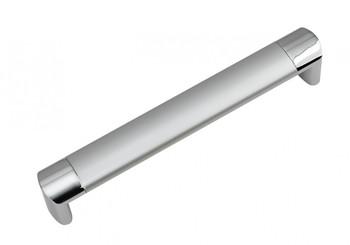 Ручка скоба 053-192, CP - Хром полированный,  Сатиновый хром