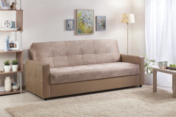 Диван-кровать Ручеек-1Н Лонг с блоком независимых пружин, Боровичи мебель