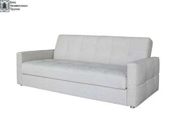Диван - кровать Ручеек 1Н Биг со стежкой, с блоком независимых пружин, Боровичи мебель