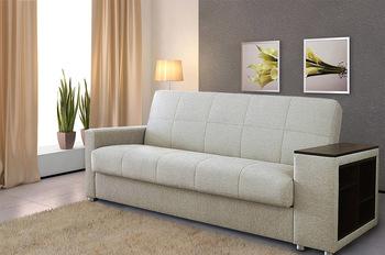 Диван-кровать Ручеек-1Н боковина с полкой, Боровичи мебель
