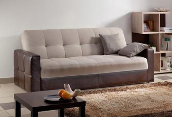 Диван - кровать Ручеек 1Н Биг со стежкой, Боровичи мебель