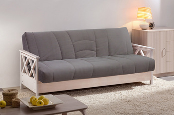 Диван-кровать Ручеек клик-клак Массив со стежкой Корона, Боровичи мебель