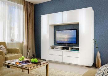 Румба гостиная, 2188х384х1950, Моби мебель
