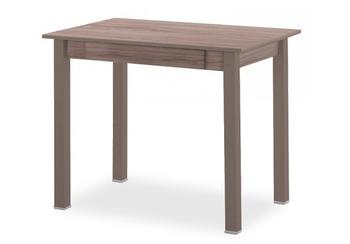 Стол обеденный с ящиком прямая нога 600x900 мм, Боровичи мебель