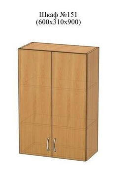 Шкаф №151 (600х310х900, Патина, Элегия, Боровичи