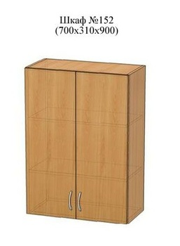 Шкаф №152 (700х310х900), Патина, Элегия, Боровичи