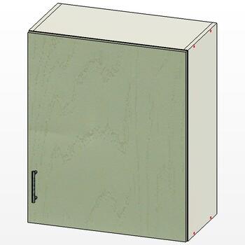 Шкаф 1 дверь 600х300х720, 1 кат., Лопасня мебель