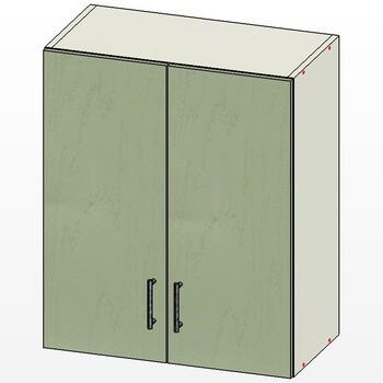 Шкаф 2 двери 600х300х720, 1 кат., Лопасня мебель
