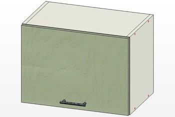 Шкаф горизонт газлифт, 1 дверь 500х300х360, 1 кат. Лопасня мебель