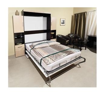 Шкаф-Кровать Блюз, 1520х400х2224, Элегия, Боровичи