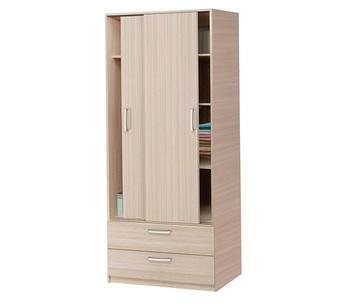 Шкаф-купе Эконом 2-х дверный, 840х1995х540 мм, Боровичи мебель
