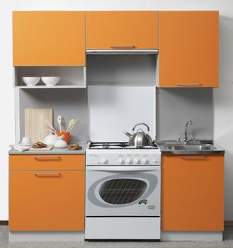 Кухня Симпл 1700 мм с нишей, 1 категория, Боровичи мебель