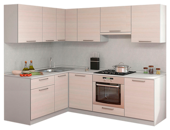 Кухня Симпл Прямой угол 1600х2200 мм, 1 категория, Боровичи мебель