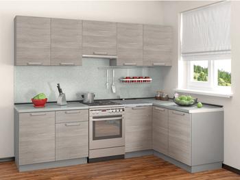 Кухня Симпл угловая 2700х1500 мм, Боровичи мебель