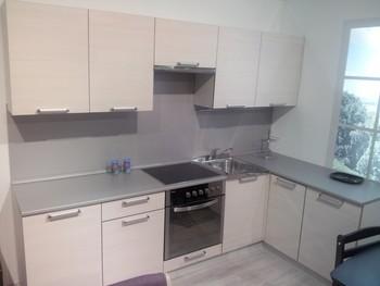 Кухня Симпл угловая 2700х1500 мм, 1 категория, Боровичи мебель