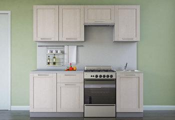Кухня Симпл массив 2100 мм, 2 категогрия, Боровичи мебель