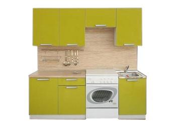 Кухня Симпл 2100 мм, 2 категория, Боровичи мебель