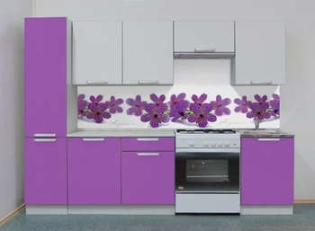 Кухня Симпл 2500 мм, 2 категория, Боровичи мебель