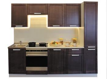 Кухонный Симпл  2500 мм, Массив, Боровичи мебель