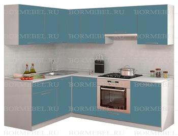 Кухня Симпл Прямой угол 1600х2200 мм, 2 категория, Боровичи мебель