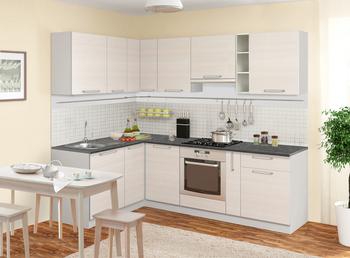 Кухня Симпл угловой 2100х2400 мм, 1 категория, Боровичи мебель