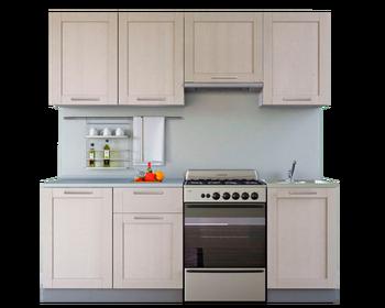Кухня Симпл массив 2100 мм, Боровичи мебель