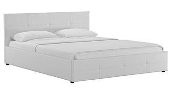 Кровать Синди 1800 белый (без матраса), Нижегородмебель