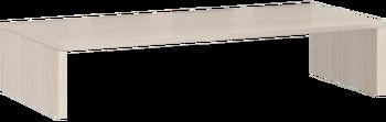 17.25 Надстройка на тумбу 842х136х385 мм, Боровичи мебель