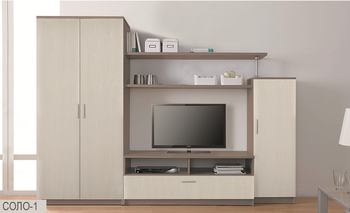 Стенка Соло вариант 1 - Боровичи мебель