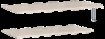 20.11 Полка 842/1260х360х340 серия Соло, Боровичи мебель
