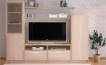 Стенка Соло вариант 4 - Боровичи мебель