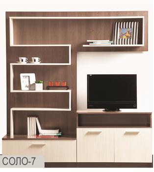 Стенка Соло вариант 7 - Боровичи мебель