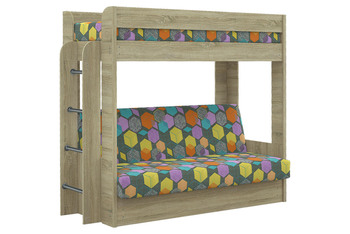Диван-кровать двухъярусная с матрасом, Элегия