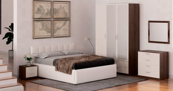 Спальня Лотос, вариант №5, Боровичи мебель