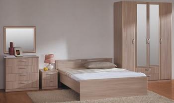 Спальня Лотос, вариант №1, Боровичи мебель