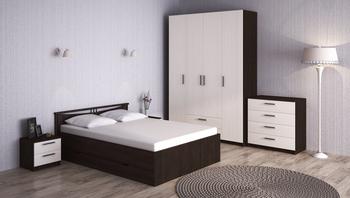 Спальня Лотос, вариант № 6, Боровичи мебель