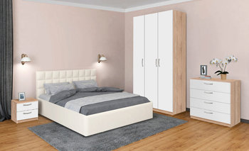 Спальня Лотос вариант №3, Боровичи мебель