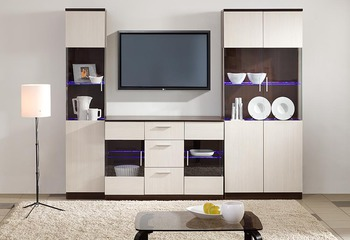 Гостиная Модерн Вариант 2, Боровичи мебель