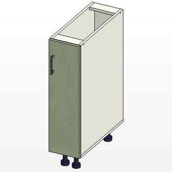 Стол 1 дверь, 200х515х820, 1 кат. Лопасня мебель