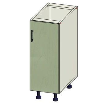 Стол 1 дверь, 300х515х820, 1 кат. Лопасня мебель