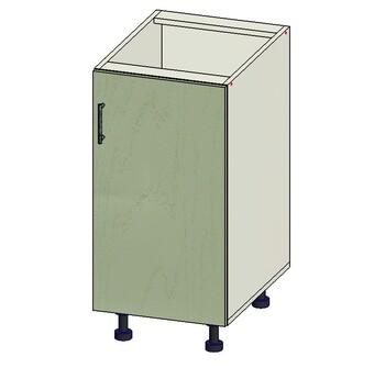 Стол 1 дверь, 400х515х820, 1 кат. Лопасня мебель