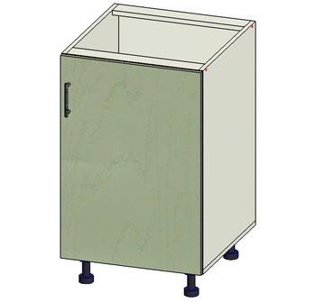 Стол 1 дверь, 500х515х820, 1 кат. Лопасня мебель