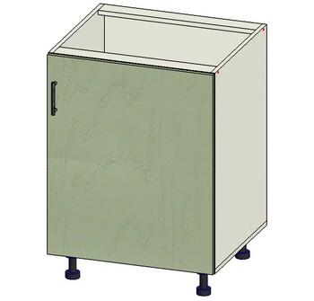 Стол 1 дверь, 600х515х820, 1 кат. Лопасня мебель