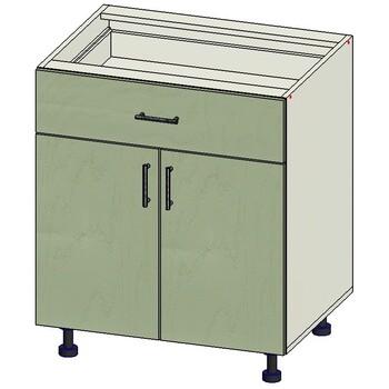 Стол 1 ящик МБ, 2 двери 700х515х820, 1 кат. Лопасня мебель
