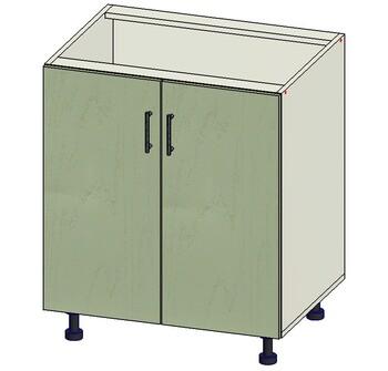 Стол 2 двери, 700х515х820, 1 кат. Лопасня мебель