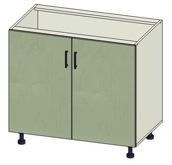 Стол 2 двери, 900х515х820, 1 кат. Лопасня мебель