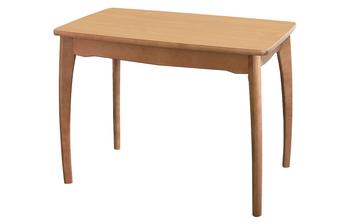Стол обеденный с фигурной ножкой (нога Бочонок Н), Элегия, Боровичи