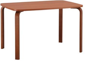 Стол гнутая нога 800x1150 мм, Боровичи мебель