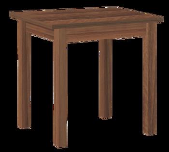 Стол обеденный раскладной Компакт прямая нога 600/1200x720 мм, Боровичи мебель